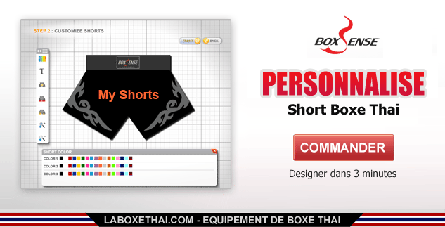 Personalize Short Boxe Thai