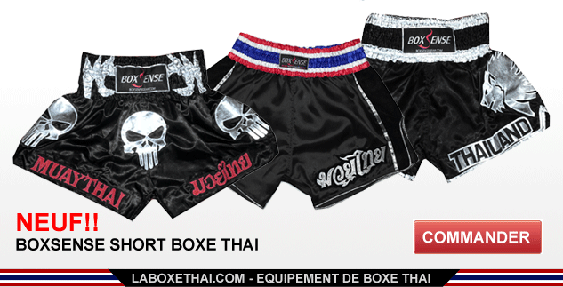Boxsense Short Boxe Thai